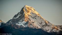 Sunrise over Annapurna South from Poon Hill, Ghorepani Trek