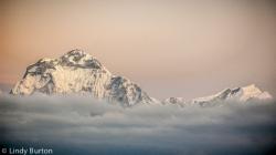 Sunrise over Annapurna from Poon Hill, Ghorepani Trek