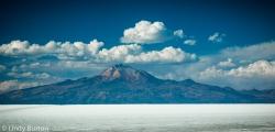 Andes from Salar de Uyuni, Bolivia
