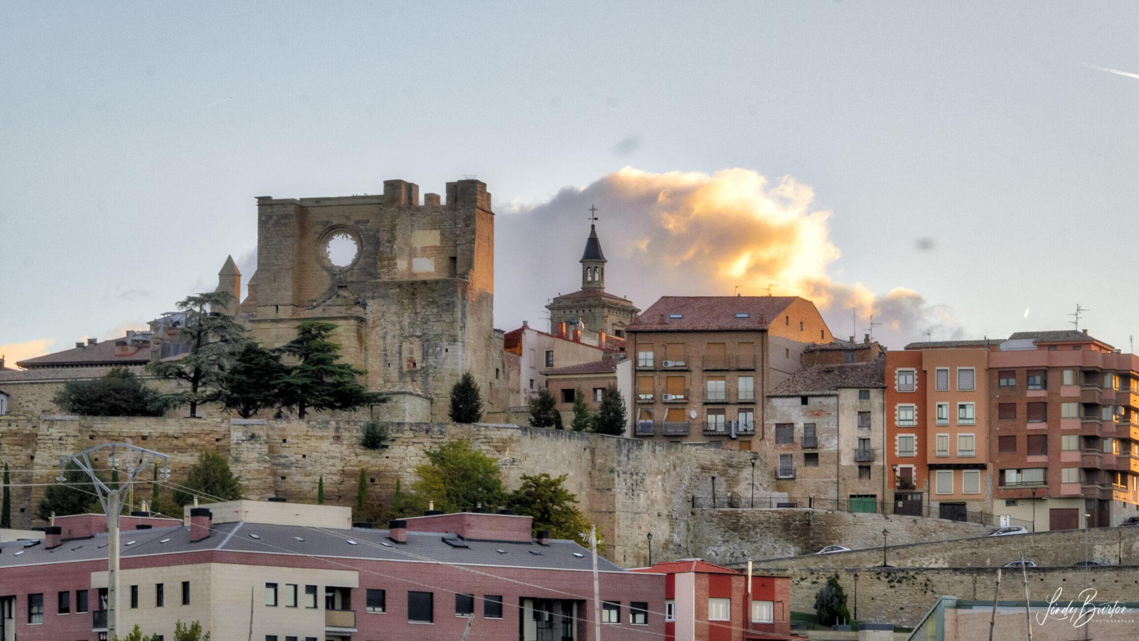 Camino Frances Village Between Viana & Logrono Spain